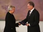 BERLIN - OCTOBER 28:  German President Horst K...