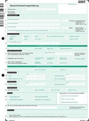 Steuererklärung 2007