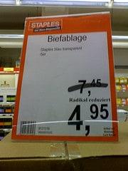 Biefablage