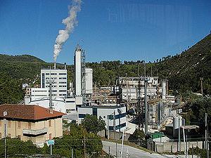 Die Fabrik von Bussi sul Tirino