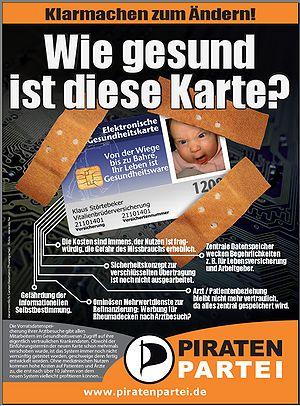Piratenpartei Gesundheitskarte