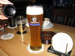 """Weihenstephan at """"Haus der 100 Biere""""..."""