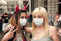 Schweinegrippe auf der Streetparade