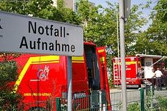 Feuer im Krankenhaus Rüsselsheim 27.04.07