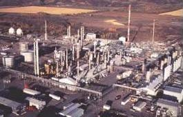 A natural gas processing plant