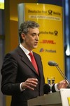 BONN, GERMANY - NOVEMBER 10:  Frank Appel, CEO...