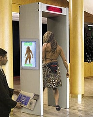 airport security are getting x-ray scanners