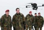 LETZLINGEN, GERMANY - JANUARY 15: German Defen...