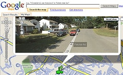 google street view adds my town
