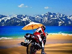 Motorrad Urlaub Motorcycle vacation
