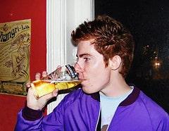 Andy Plus Drinks Beer