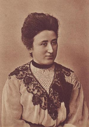 Rosa Luxemburg, circa 1908.