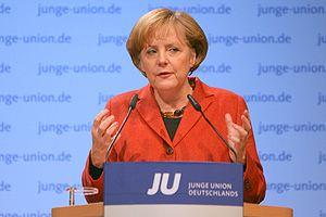 German Chancelor Dr. Angela Merkel