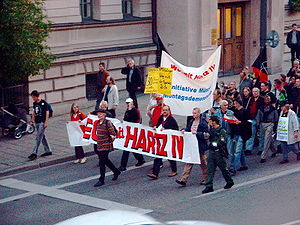 Anti-Hartz-Demo