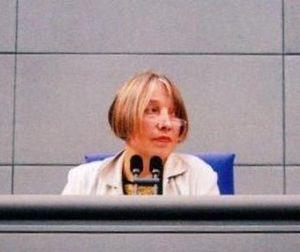 antje Vollmer, deutsche Politikerin (Bündnis 9...