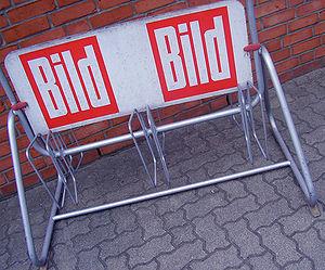 """BILD Werbung / """"BILD"""" advertising"""
