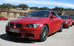 BMW M3 E92 coupe - press presentation in Marbella