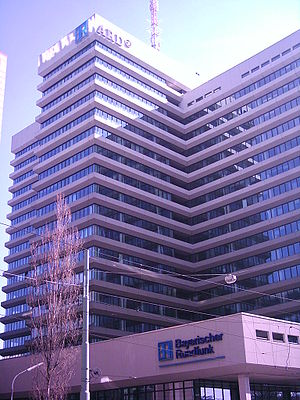 Studio/Headquarters of Bayerischer Rundfunk (B...