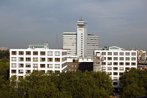 Gebäudekomplex des rbb (Rundfunk Berlin-Brande...