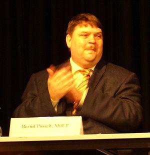 Bernd Posselt, (MEP), German politician.