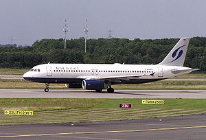 Blue Wings A320-200 (D-ANNB) in Düsseldorf (EDDL)