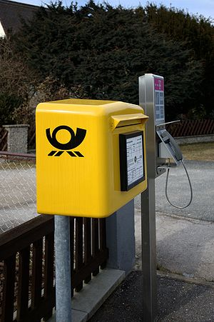 Briefkasten in Deutschland (Wicklesgreuth, Bayern)