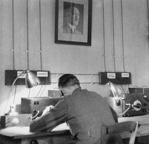 Secret radio service the OKW (Amt Ausland/Abwehr).