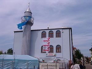 Zentralmoschee (Merkez-Moschee) in Offenburg