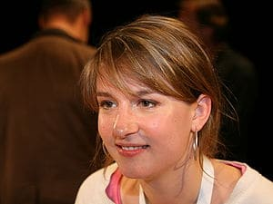 Franziska Drohsel, chairperson of the Young So...