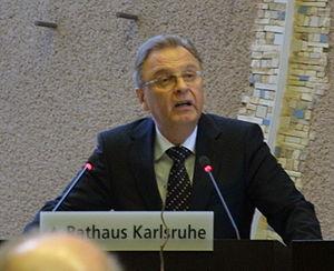 Hans-Jürgen Papier, President of the Federal C...