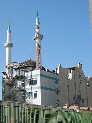 Die Centrum-Moschee in der Böckmannstraße in S...