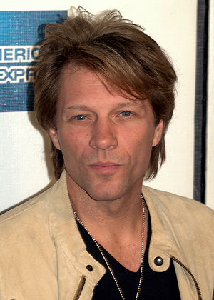 Jon Bon Jovi at the 2009 Tribeca Film Festival...