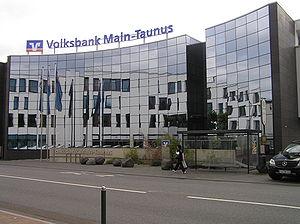 {{de|1=Gebäude der Volksbank Main-Taunus (nun ...