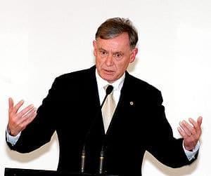 {{pt|O presidente da Alemanha, Horst Köhler, e...