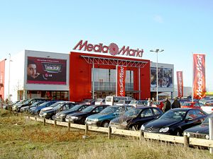 Media Markt in Weiterstadt.
