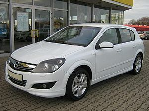 Currently Opel Astra