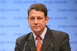 Philipp Mißfelder MP, chair of the young chris...