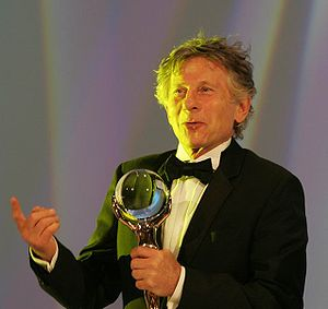 Polanski with a Crystal Globe, 2005