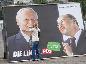 Election poster, Berlin 2005