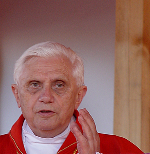 Derivative Work. Cardinal Joseph Ratzinger (Po...