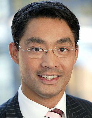 {{en|1=Dr. Philipp Rösler, Minister for Econom...