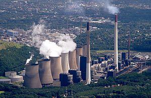Kohlekraftwerk Scholven, a fossil fuel power p...