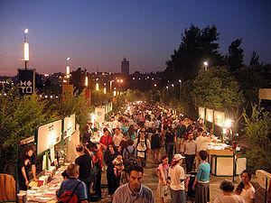 Bookfair, at the Jerusalem Israel Museum, Week...