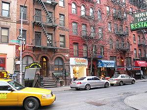 Street in Greenwich Village
