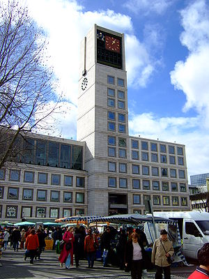 Townhall of Stuttgart/Germany