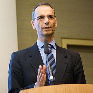 Professor Dr. Michael Wolffsohn bei einem Vort...