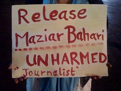 Release journalist Maziar Bahari #Iranelection...