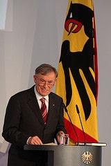 Horst Köhler spricht bei der Abschlussveransta...