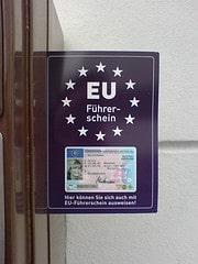 Päckchen auch mit EU-Führerschein