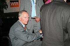 Dr. Schäuble in Bremen